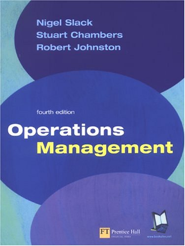 9780273679066: Operations Management