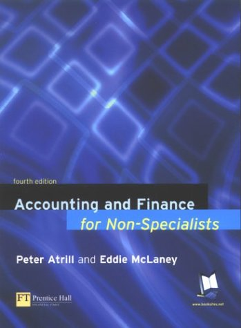 Accounting finance non specialists by peter atrill abebooks fandeluxe Choice Image