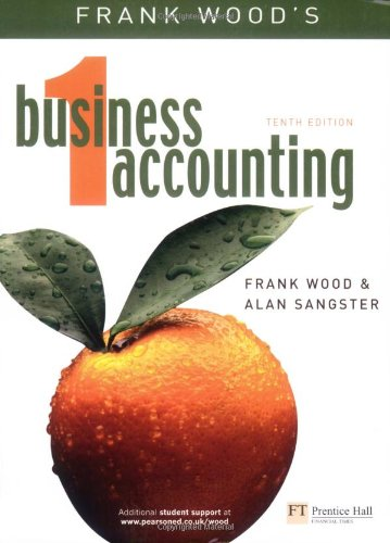 9780273681496: Business Accounting: v. 1