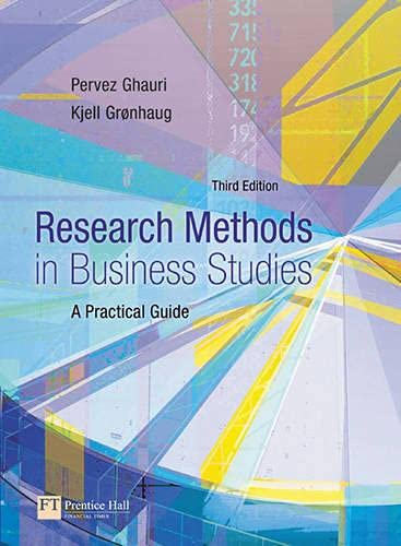 9780273681564: Research Methods in Business Studies: A Practical Guide (3rd Edition)