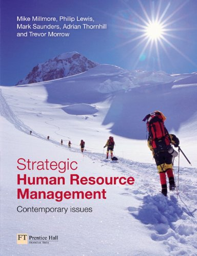 Strategic Human Resource Management: Contemporary Issues: Saunders, Mark, Millmore,