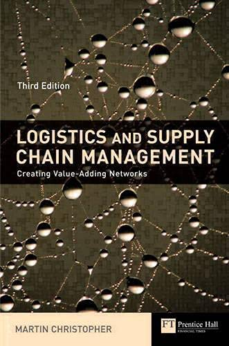 Logistics & Supply Chain Management Creating Value-Adding Networks