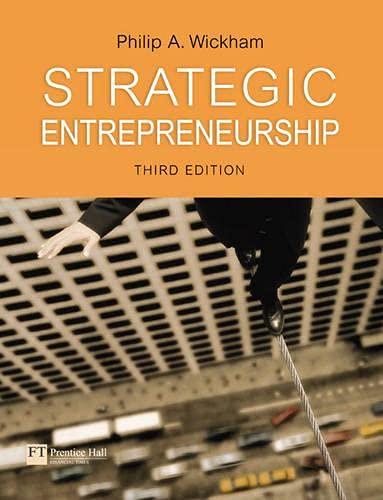 9780273682264: Strategic Entrepreneurship (3rd Edition)