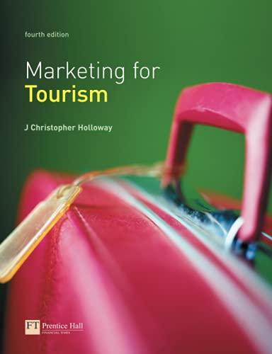 9780273682295: Marketing for Tourism
