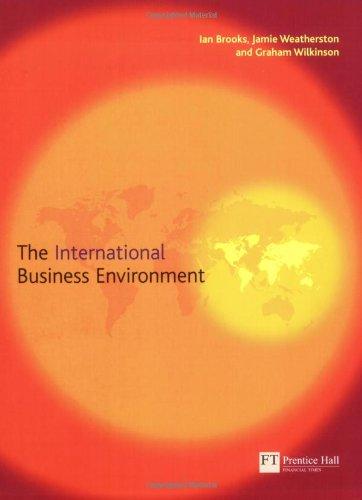 9780273682479: International Business Environment