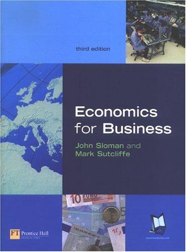9780273683353: Economics for Business