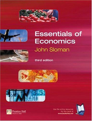 Essentials of Economics: John Sloman