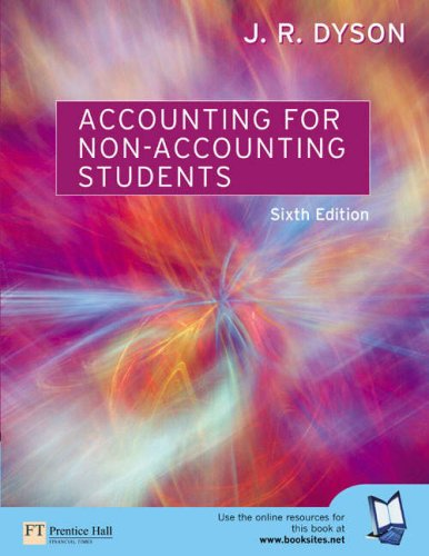9780273683858: Accounting for Non-Accounting Students