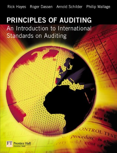 9780273684107: Principles of Auditing: An Introduction to International Standards on Auditing (2nd Edition)