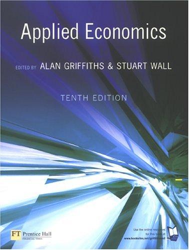 9780273684329: Applied Economics