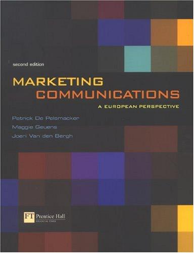 marketing communications a european perspective dove Buy marketing communications: a european perspective 6 by prof patrick de pelsmacker, prof maggie geuens, joeri van den bergh (isbn: 9781292135762) from amazon's book store.