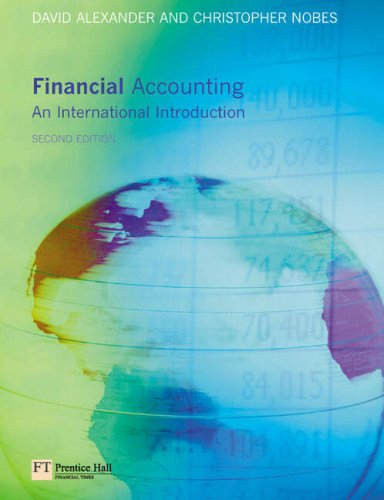 9780273685203: Financial Accounting: An International Introduction