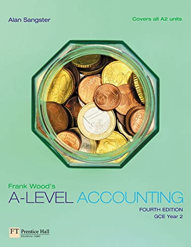 9780273685326: Frank Wood's A-Level Accounting: Gce Year 2