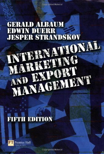 9780273686347: International Marketing and Export Management