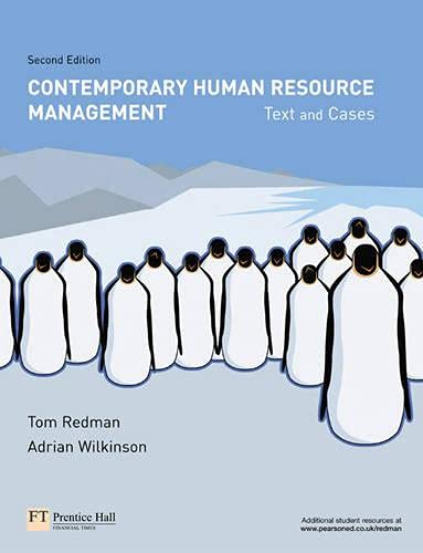 9780273686637: Contemporary Human Resource Management: Text and Cases