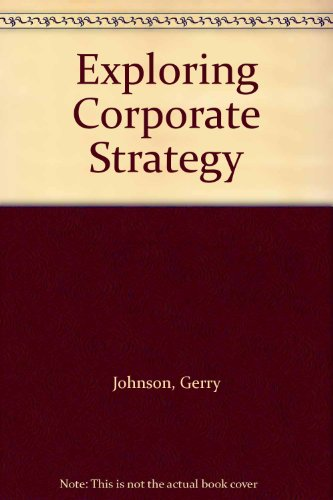 9780273687498: Exploring Corporate Strategy