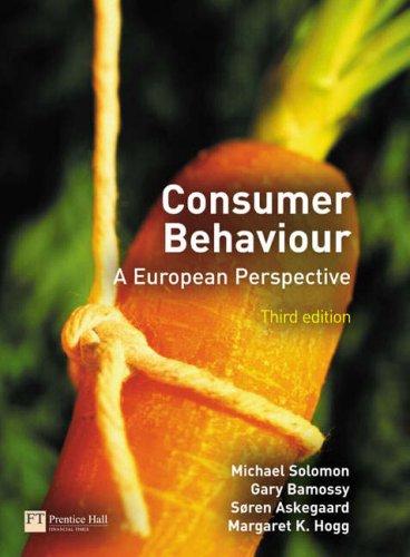 9780273687528: Consumer Behaviour: A European Perspective