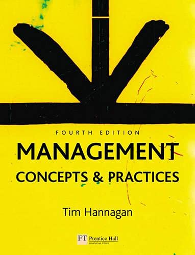 9780273687689: Management: Concepts and Practices (4th Edition)