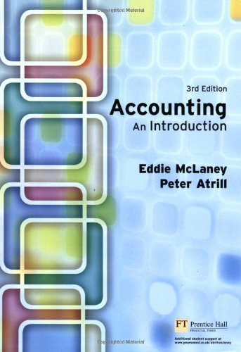 9780273688228: Accounting: An Introduction