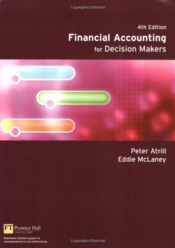 Financial accounting for decision makers by atrill abebooks financial accounting for decision makers peter atrill eddie fandeluxe Choice Image