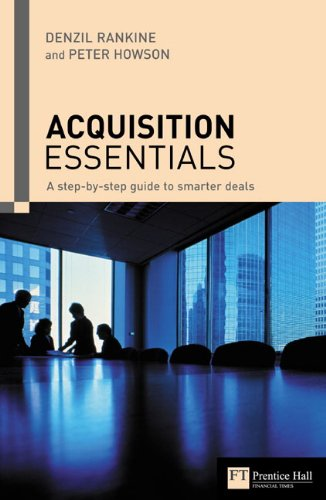 9780273688617: Acquisition Essentials: A Step-by-Step Guide to Smarter Deals