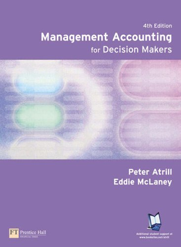 9780273688679: Management Accounting For Decision Makers