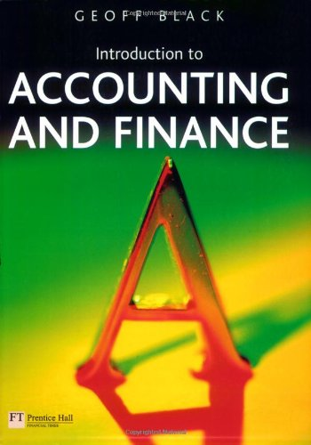 9780273688709: Introduction to Accounting and Finance