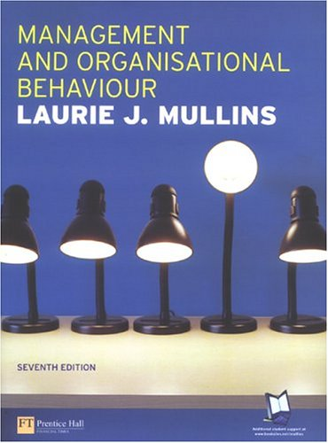 9780273688761: Management &Organisational Behaviour (7th Edition)
