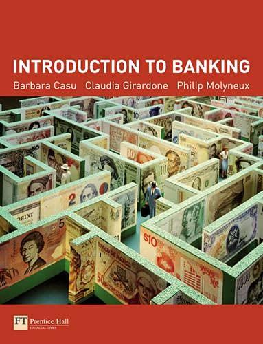 Introduction to Banking: Barbara Casu, Claudia