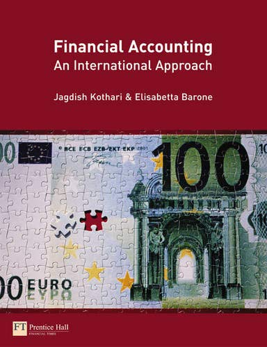 9780273693192: Financial Accounting: An International Approach