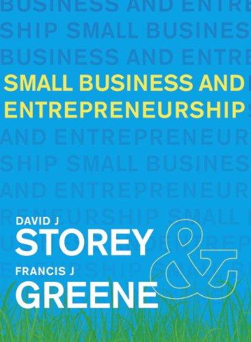 9780273693475: Small Business and Entrepreneurship
