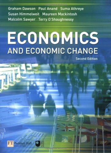 9780273693512: Economics and Economic Change (2nd Edition)