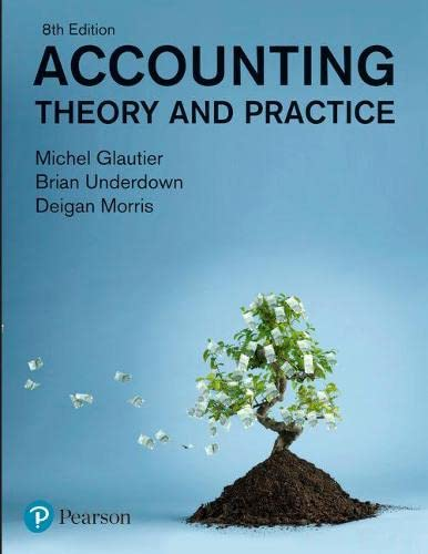 9780273693857: Accounting: Theory and Practice (8th Edition)