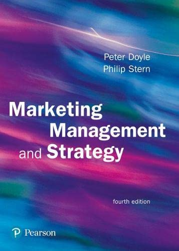 9780273693987: Marketing Management and Strategy (4th Edition)