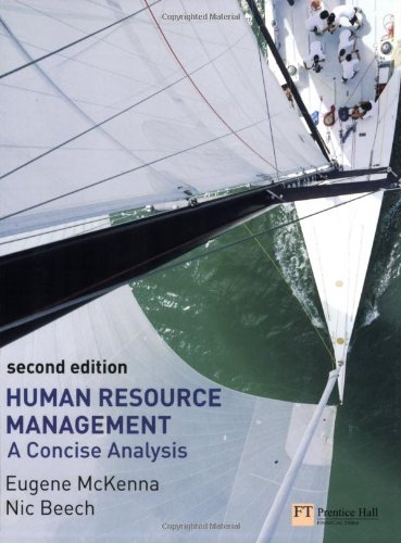 9780273694182: Human Resource Management: A Concise Analysis
