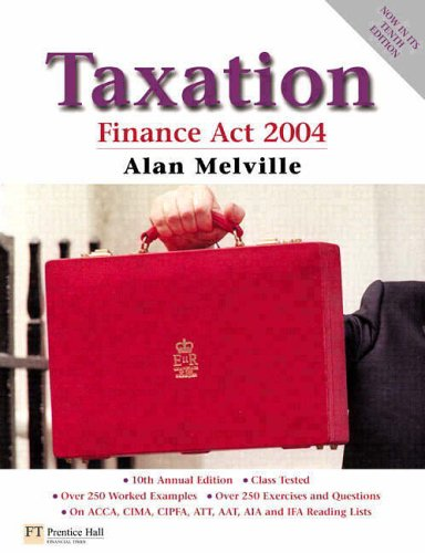Taxation, Finance Act 2004: Melville, Alan