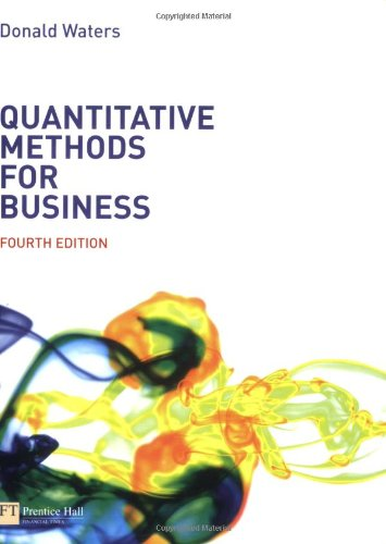 9780273694588: Quantitative Methods for Business