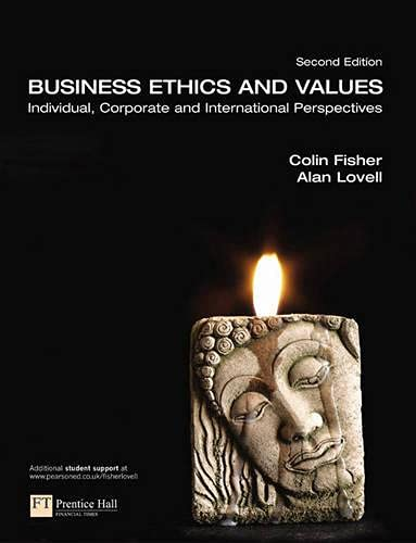 9780273694786: Business Ethics and Values (2nd Edition)