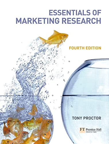 9780273694946: Essentials of Marketing Research