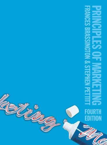 9780273695592: Principles of Marketing