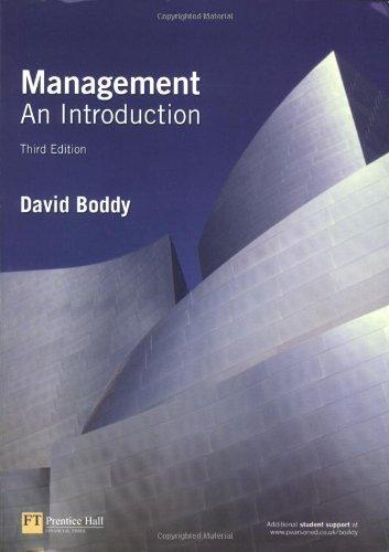 9780273695868: Management: An Introduction