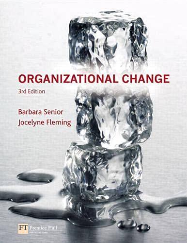 9780273695981: Organizational Change