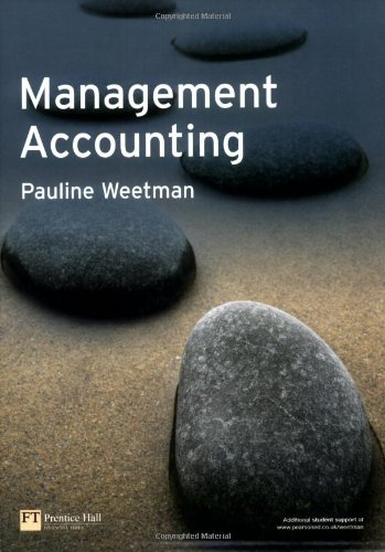 9780273701996: Management Accounting