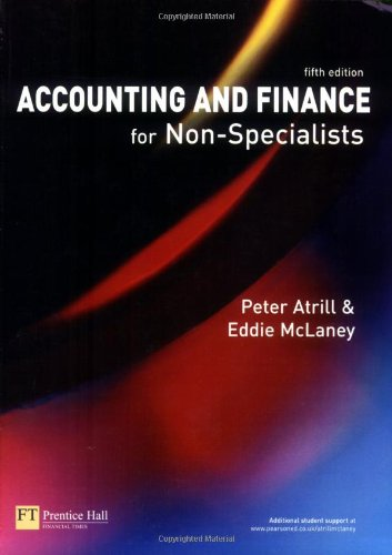 9780273702443: Accounting and Finance for Non-Specialists