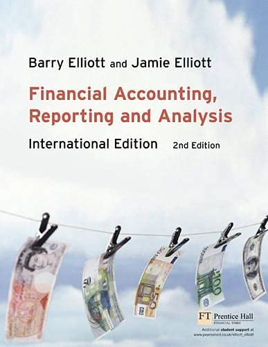 9780273702535: Financial Accounting, Reporting & Analysis: International Edition (2nd Edition)