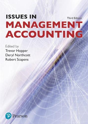 9780273702573: Issues in Management Accounting (3rd Edition)