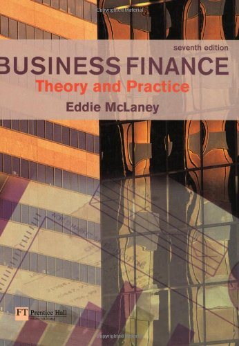 9780273702627: Business Finance: Theory and Practice