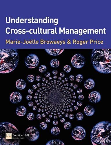 9780273703365: Understanding Cross-cultural Management (LIVRE ANGLAIS)