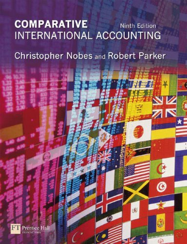 Comparative International Accounting: Nobes, Prof Christopher