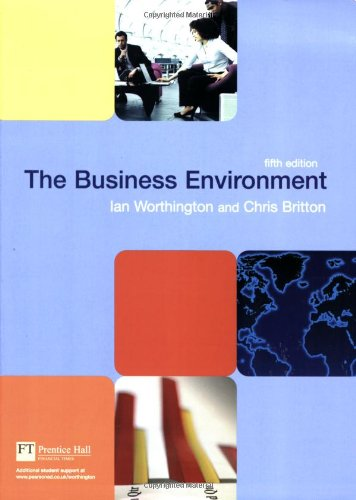 9780273704249: The Business Environment